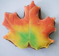 пряник осенний кленовый лист