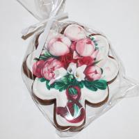 пряник букет роз