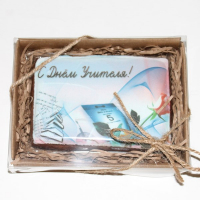 Пряник-открытка на день учителя-3