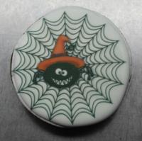 Пряник Медальон с паутинкой 8 см
