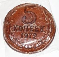 Покровский печатный пряник 5 копеек 500гр