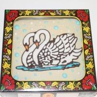 Покровский пряник-тортик Лебеди 700гр