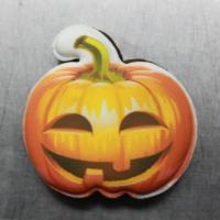 Пряник Тыква на хэллоуин 8 см