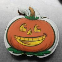 пряник тыква на хэллоуин добрая 1