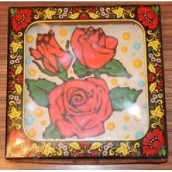Покровский пряник-тортик Цветы