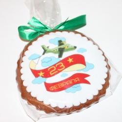 Имбирное печенье на 23 февраля