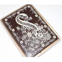 Покр. пряник в шоколаде  8-ка с цветами