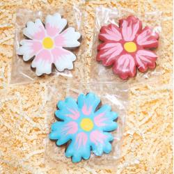 Имбирный пряник цветок подснежника 7см