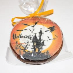 пряник на хэллоуин ночь избушка