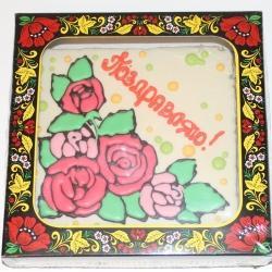 Покровский пряник Розы Поздравляю 700гр