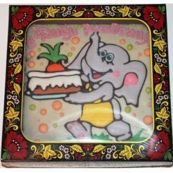 Покровский пряник-тортик Слоник 700гр