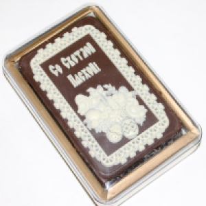 Покровский пряник в шоколаде Пасха 160гр
